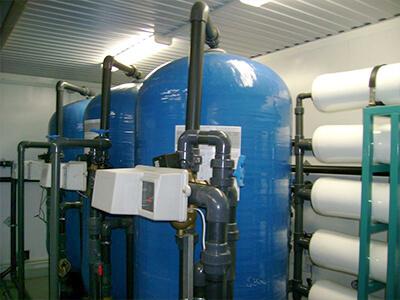 Строительство сооружений водоподготовки