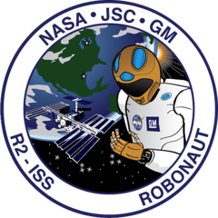 Лого NASA Johnson Space Center and GM