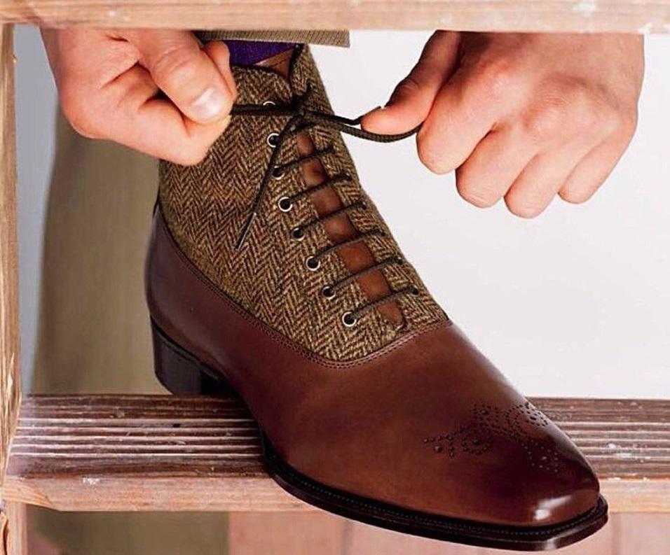 Мужские ботинки, полусапожки