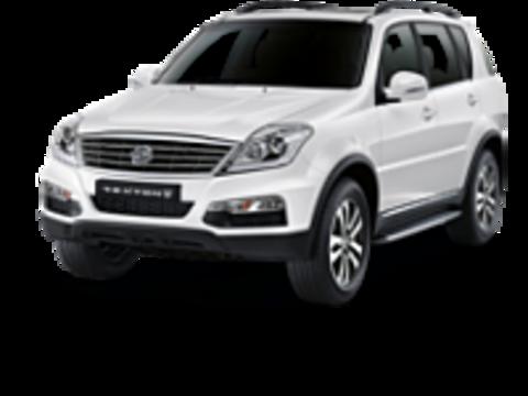Багажники на Ssang yong Rexton III 2012-2017 на рейлинги