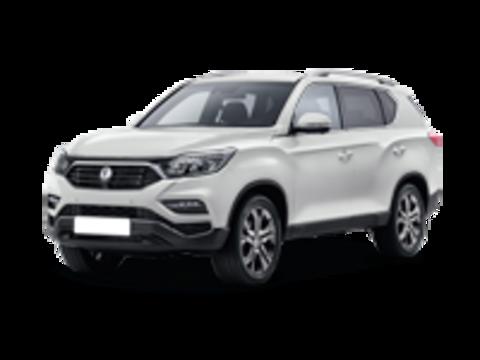 Багажники на Ssang yong Rexton IV 2017-2019 на рейлинги