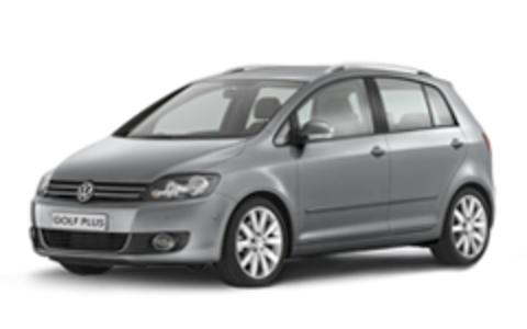 Багажники на Volkswagen Golf Plus На рейлинги