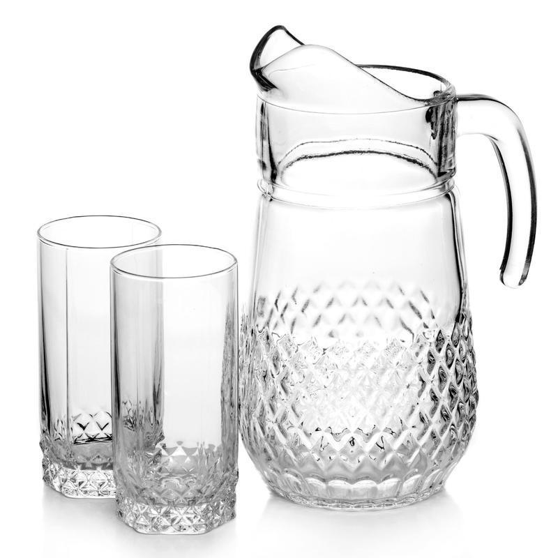 Стеклянная посуда для питья