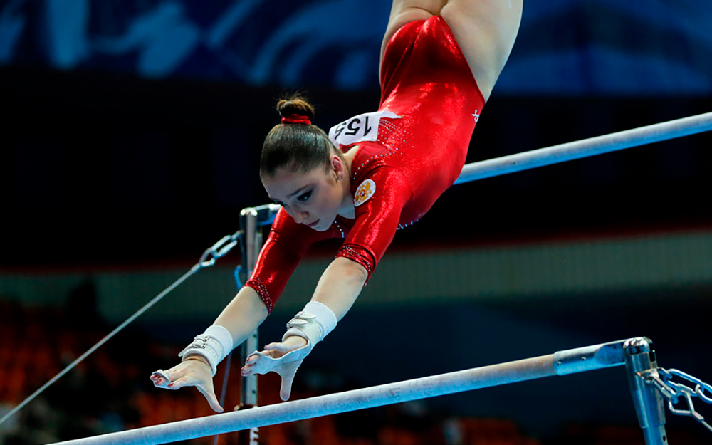 Таблицы размеров товаров для спортивной гимнастики и прыжков на батуте