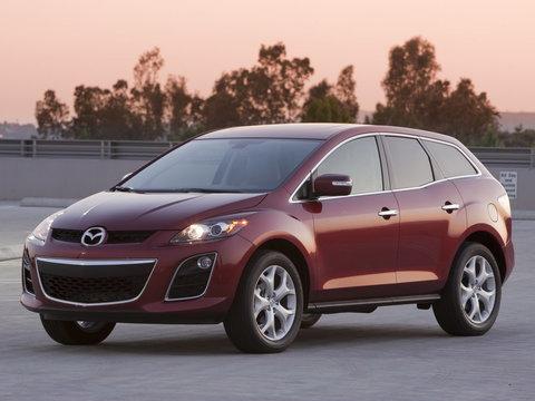 Багажники на Mazda CX-72006-2013 штатное место
