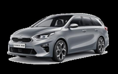 Багажники на Kia Ceed III 2018-2019 универсал низкий рейлинг