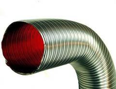 Газоходы неизолированные из нержавеющей стали