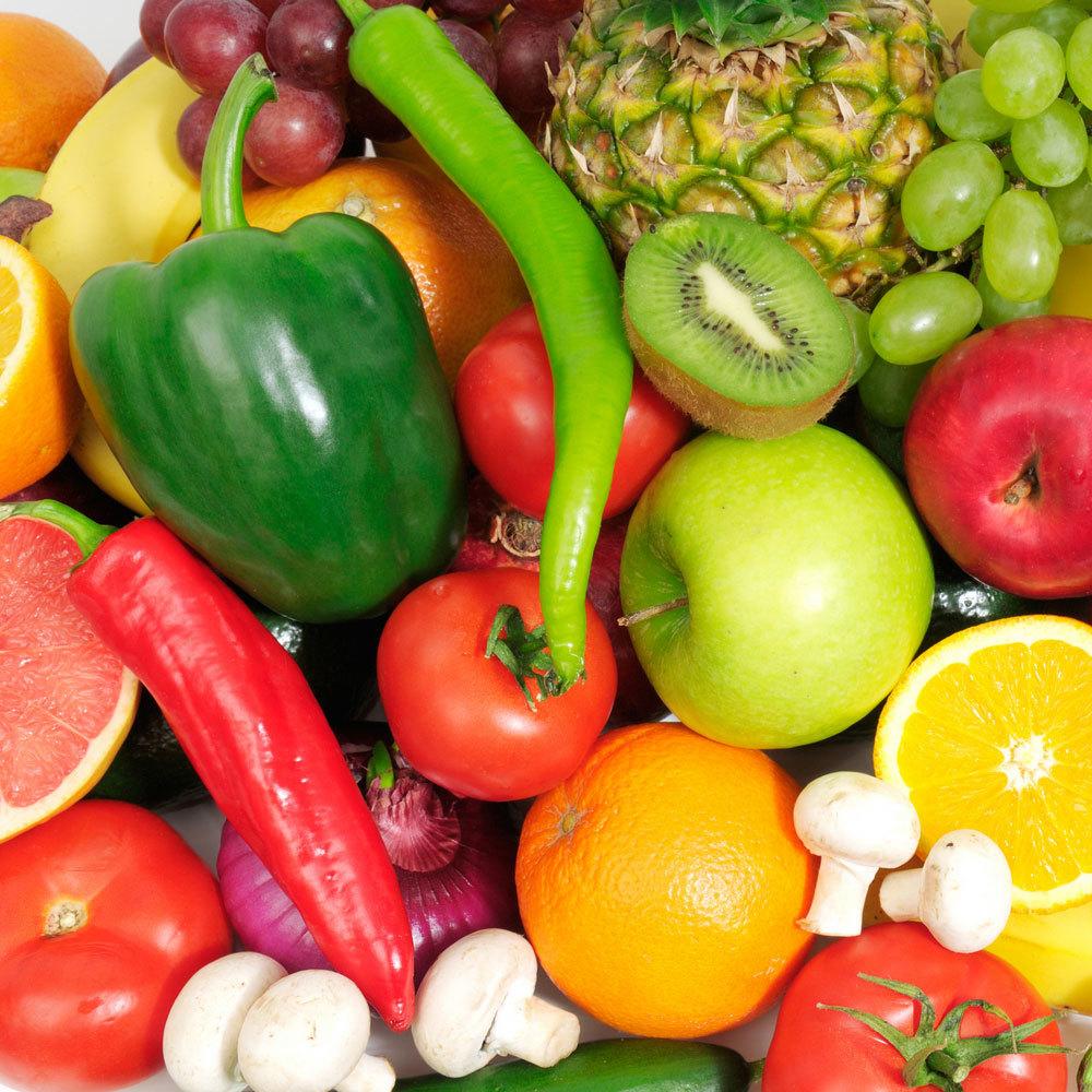 Овощи, фрукты, грибы, ягоды