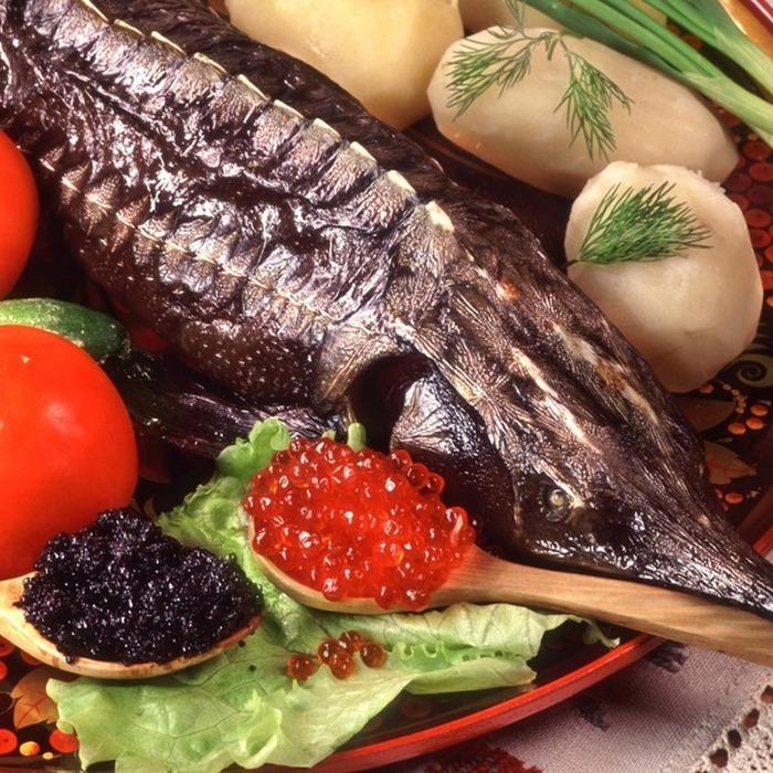 Рыба, икра