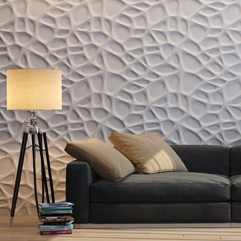 Рельефные 3D панели из пенополиуретана