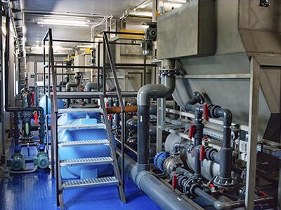 Станции очистки производственных сточных вод