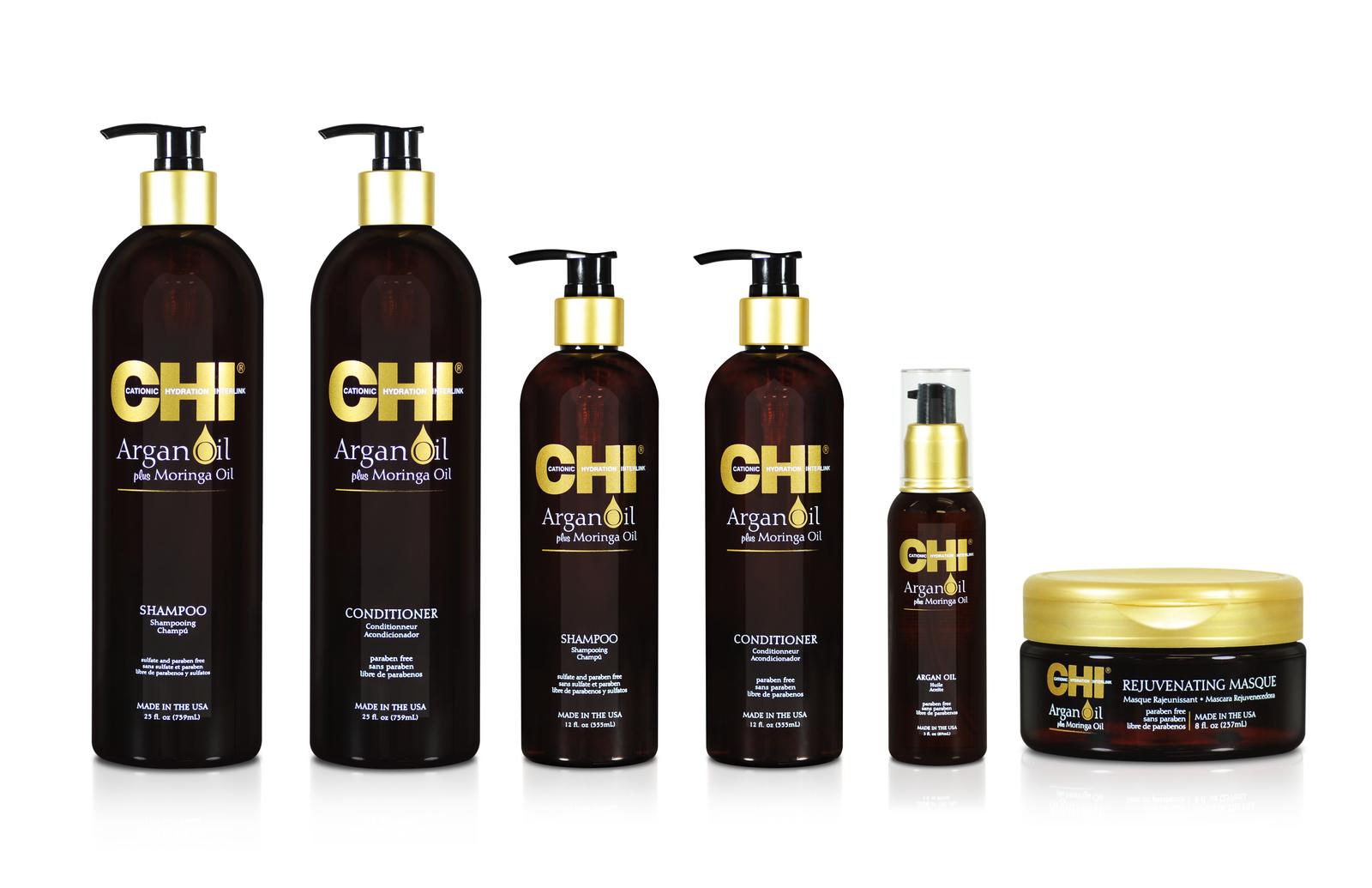 CHI Argan Oil / Средства на основе масла Арганы и дерева Моринга Новинка