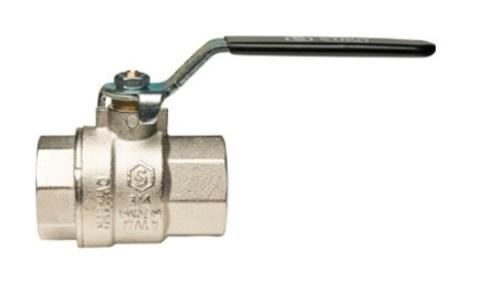 Кран шаровый Stout  ВР/ВР муфтовый полнопроходной (рычаг)