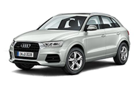Багажники на Audi Q3 8u 2011-2019 низкие рейлинги