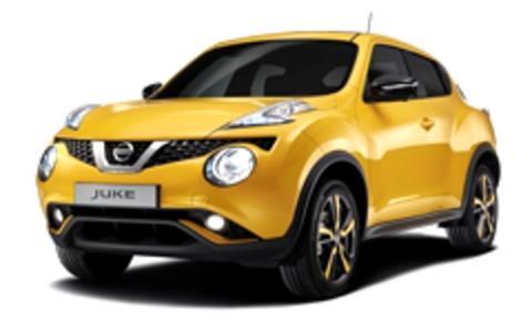 Багажник на крышу Nissan Juke 2010-2019 за дверной проем