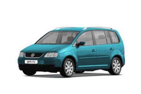 Багажники на Volkswagen Touran За дверные проемы