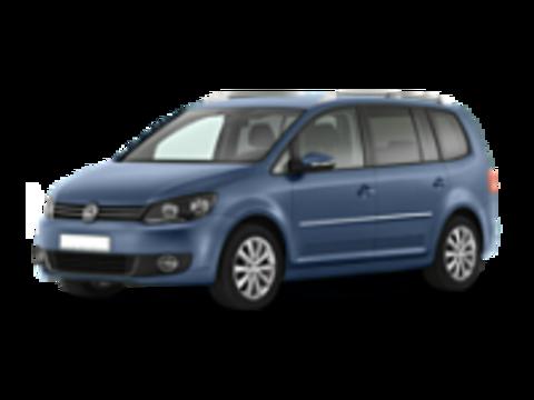 Багажники на Volkswagen Touran На рейлинги