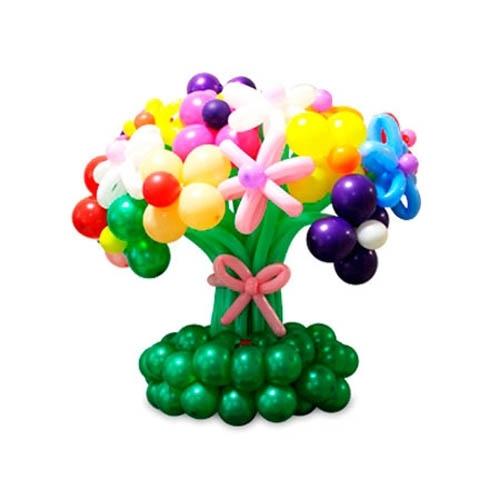 Букеты и корзины из шаров