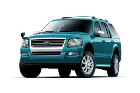 Багажники на Ford Explorer IV 2006-2010
