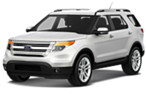 Багажники на Ford Explorer V 2010-2017 на рейлинги