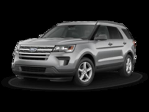 Багажники на Ford Explorer V 2017-2019 на низкие рейлинги