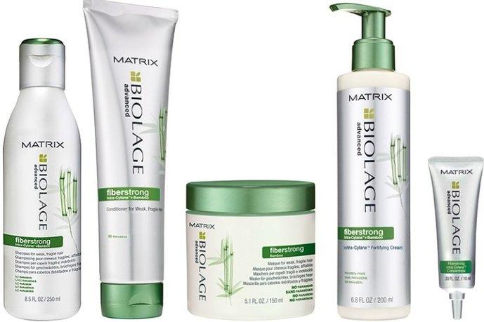 Matrix Biolage Fiberstrong укрепление ломких и ослабленных волос