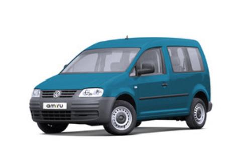 Багажники на Volkswagen Caddy II 1996-2004 на штатные места
