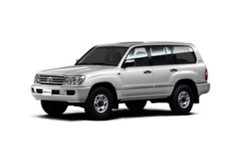 Багажники на Toyota Land Cruiser  100 на рейлинги 1997-2008