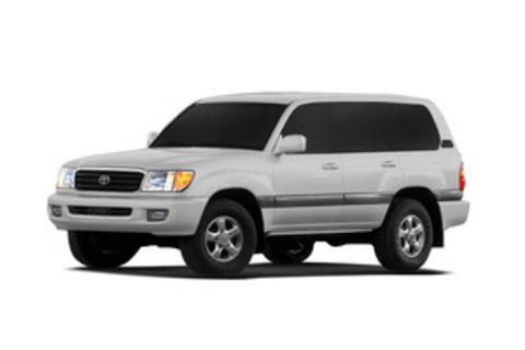 Багажники на Toyota Land Cruiser 100 за дверной проем