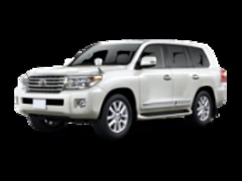Багажники на Toyota Land Cruiser 200 2007-2019 на рейлинги