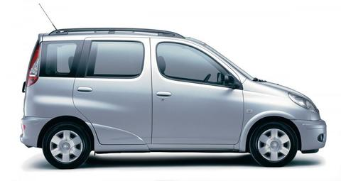 Багажники на Toyota Yaris Verso 1999-2006 на рейлинги