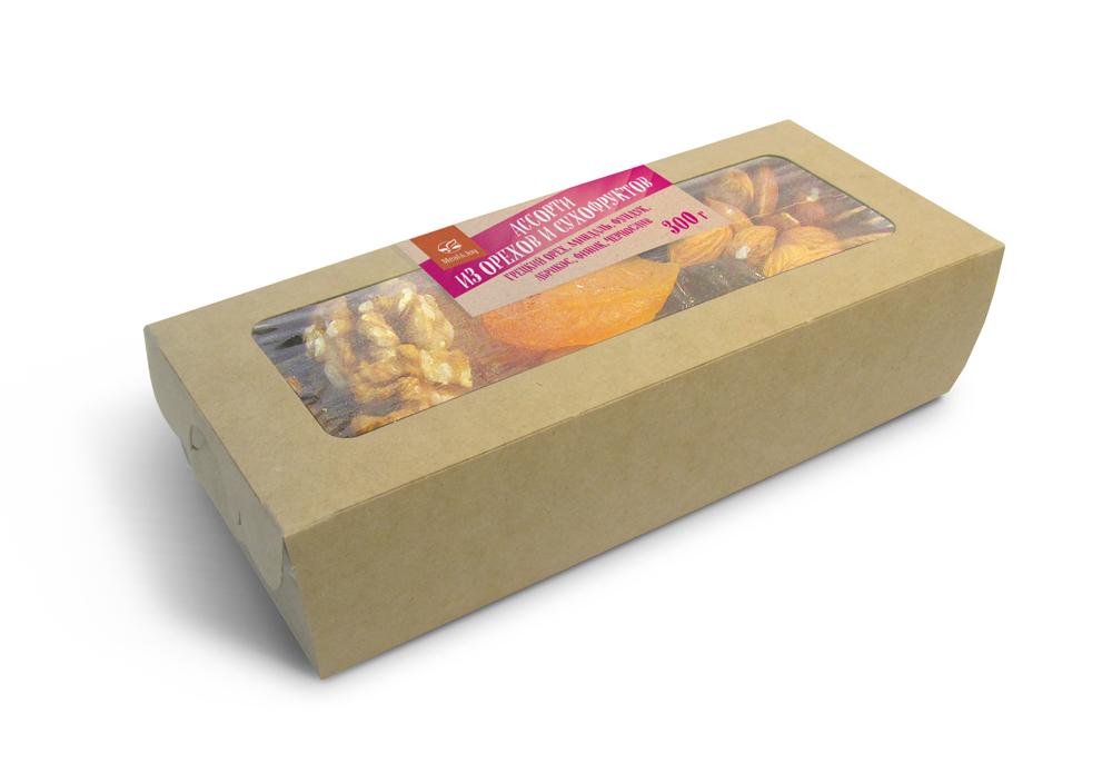 Ассорти из орехов, сухофруктов и цукатов
