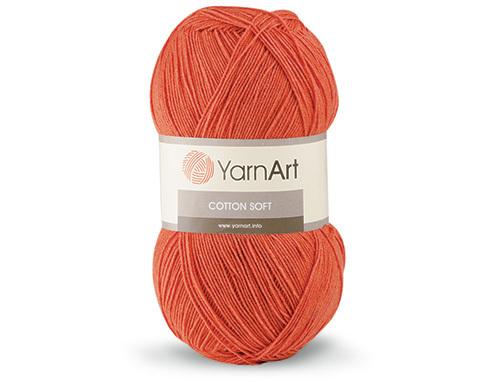 Cotton Soft (55% хлопок, 45% акрил, 100г/600м)