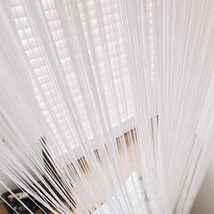 Нитяные шторы кисея