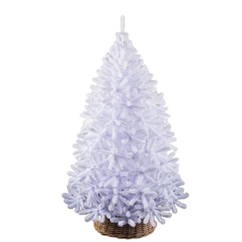 Белые елки