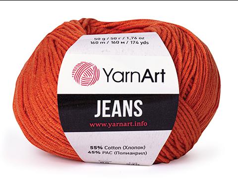 Jeans (55% хлопок, 45% акрил, 50г/160м) 3.5 BYN