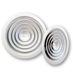 Диффузоры алюминиевые потолочные