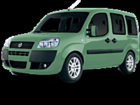 Рейлинги на Fiat Doblo 2000 - 2010