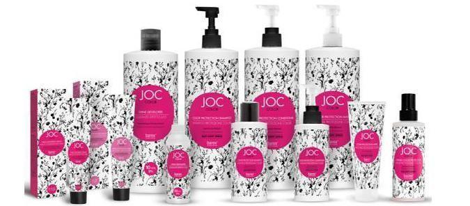 JOC Color Line для сохранения цвета окрашенных волос