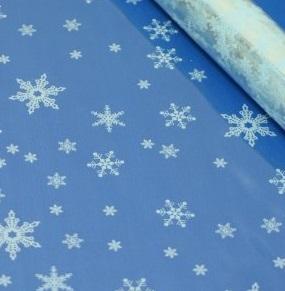 Пленка цветная Снежинки