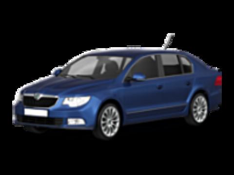 Багажники на Skoda Superb Седан 2002-2015