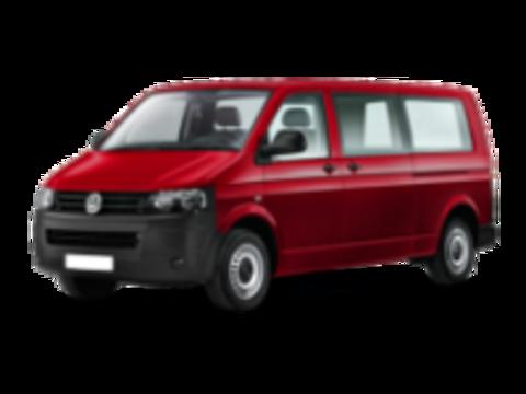 Багажники на Volkswagen Transporter T5 на штатные места