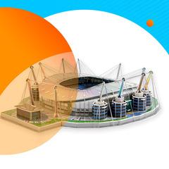3D конструкторы стадионов
