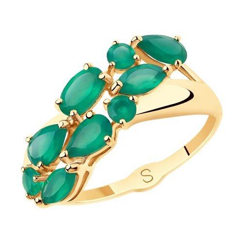 Кольца из золота с  полудрагоценными камнями