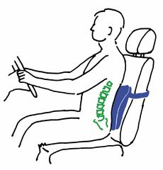 Подушки ортопедические под спину