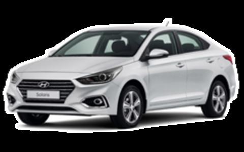 Багажники на Hyandai Solaris II 2017-2019 седан