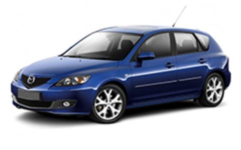 Багажники на Mazda 3 I 2003-2009 хэтчбек штатное место