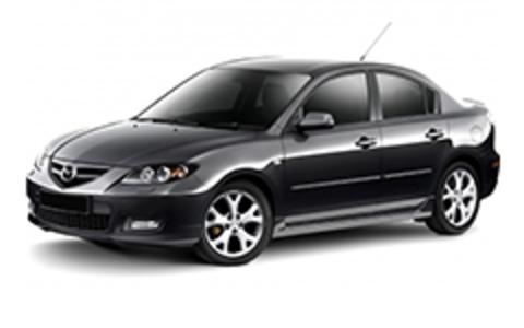 Багажники на Mazda 3 I 2003-2009 седан штатное место