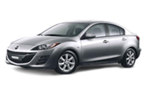 Багажники на Mazda 3II 2009-2013 седан