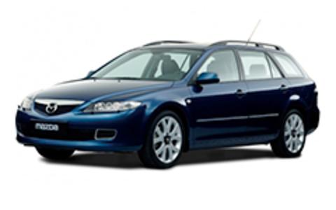 Багажники на Mazda 6 I 2002-2007 универсал на рейлинги